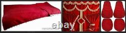 Truck/lorries Interior Set Curtain, Seat Covers, Bed Cover Truckersoutlet
