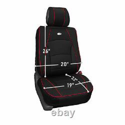 Ultra Comfort High Grade Leather Seat Covers For Car Truck SUV Van Front Set