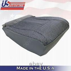 WithT & Regular Cab 1998 to 2002 Dodge Ram 1500 SLT Front Cloth Seat Covers Gray